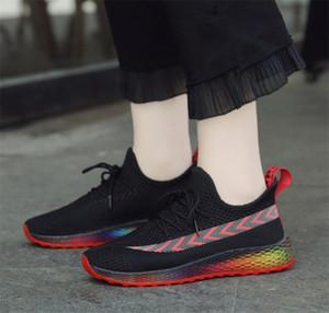 Ucuz 2019 Üçlü S ins Chaussures Moda Tasarımcısı Ayakkabı Eğitmenler Beyaz Siyah Elbise De Luxe Sneakers Kadınlar Ayakkabı çalıştıran