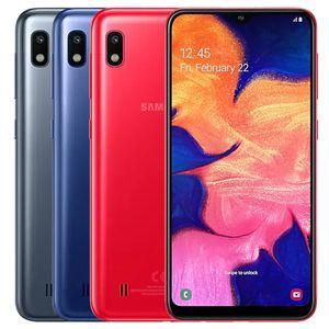 Rinnovato originale Samsung Galaxy A10 A105F / DS 6,2 pollici Dual SIM Octa core 2 GB di RAM 32 GB ROM 13 MP 4G LTE di Smart Android smart 5pcs Phone