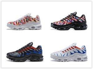 Los zapatos corrientes de campeón de la Copa Mundial de Francia PLUS TN Deportes zapatillas de deporte de airss Cojín Tns mujeres de los hombres respirables LOS PRECIOS 36-46 mhn6