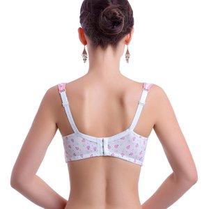 ARLONEET Women No Steel Ring Bra Maternity Intimate Ladies Button Print Lactation Bra# 25