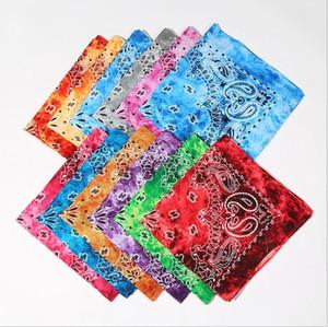 유니섹스 코튼 페이즐리 힙합 Bandanas Headscarf 라이딩 마스크 튜브 넥 얼굴 헤드 스포츠 헤드 밴드 팔찌