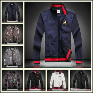 20ss весна осень новый человек женская спортивная куртка цветочный принт с капюшоном куртки мужская мода тонкий ветровка открытый двусторонняя молния C