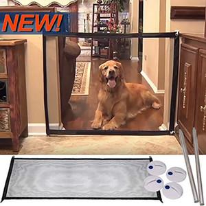 Magic Gate Pet per il cane Mesh Cani L'ingegnoso Recinzioni di sicurezza Guardia e installare ovunque Supplies Dog Pet recinzione di sicurezza per animali
