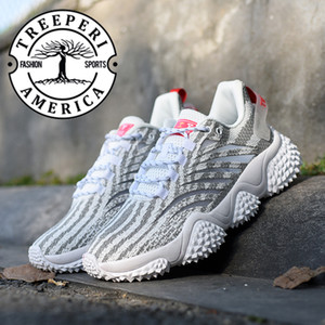 Gris Zebra Hommes Femmes Treeperi Durian Chunky V1 V2 Runner Formateurs chaussures de marque plate-forme baskets mode casual chaussures de luxe US 5-11