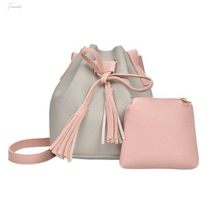 Bag Fashion Women Casual Bucket Fringed Daughter Mother Package Crossbody Bag Wholesale Amp;drop Shipping Bandolera 30