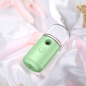 휴대용 나노 얼굴 기선 기계 페이셜 스프레이 바디 분무기 기선 모이스춰 라이징 워터 미터 찬 가습기 스프레이