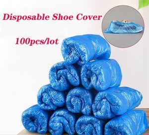 100 шт. / лот бахилы одноразовые бахилы пылезащитные нескользящие бахилы водонепроницаемые противоскользящие бахилы для домашних хозяйств