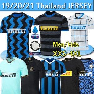 20 21 Inter 2019 2020 Lukaku Lautaro SKRINIAR GODIN SENSI futbol formaları ALEXIS SENSI Barella forması futbol takımı gömlek Erkekler Çocuk Tay