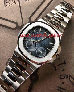 7 цветов мужские модные часы Nautilus 5712 5712R 5712G 5726 Автоматическое движение Сапфировый кристалл нержавеющая сталь 316L роскошные мужские часы
