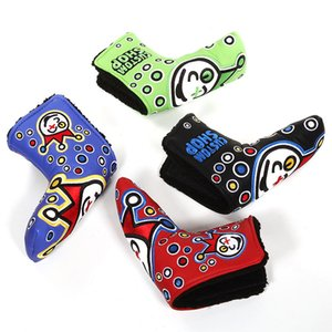 Gros Golf Head Couvre PU Numéros Club Accessoires Golf Putter Cover Headcover pour Blade Golf Putter