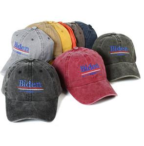 Biden, 2020 şapka Başkanı 2020 Nakış beyzbol kap Hat Ayarlanabilir usa parti şapkaları LJJK2374 için Joe Biden yıkanır
