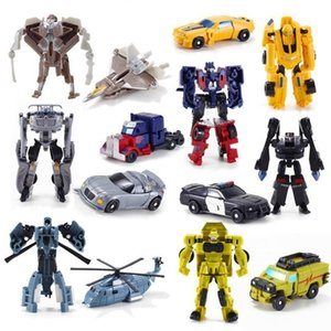 HOT SELL Mini transformation Robot Action Figure Toys Cars Robot Toys Classic model Toys For Children Gifts Brinquedos lxhua