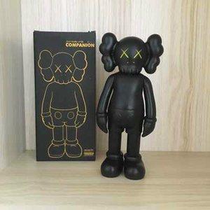 Heißer Verkauf KAWS Puppe moderne Kunst 20CM mini smlll liegen Begleiter Spielzeug benutzerdefinierte Vinyl-PVC-Graffiti-Kunst KAWS Action-Figur Statue Geschenk Original-Fälschung