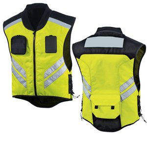 (I Waistcoat) ci [xiu] crafts kuan Reflective Vest Reflective Waistcoat Riding Waistcoat Motorcycle Vest Friction Clothing Outdoor Jackets&H