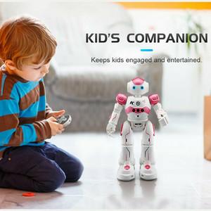 Uzaktan Kumanda Programlanabilir Robotik Oyuncak Çocuk Şarj Çocuk USB için Eğitim Akıllı Müzik Dans Robot Oyuncaklar