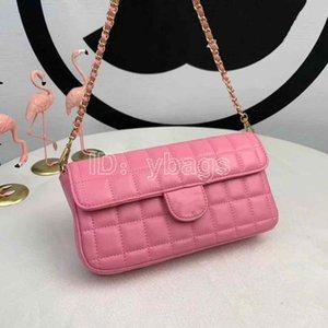 5 Color Luxury Designer Handbags Leather Popular Plaid Chains Fashion Women Bag Chain Crossbody Bag Brand Designer Shoulder Bags