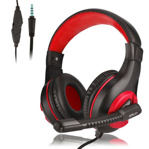 New Color Gaming Headset Wired Headphone com microfone para computador Ps4 Mobilephone