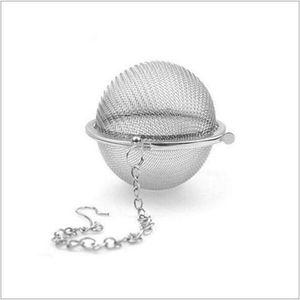 Moda Yeni Paslanmaz Çelik Çay demlik Paslanmaz Çelik Çaydanlık demlik Küre Mesh Çay Süzgeç Topu İyi Kalite 4.5cm Drinkware
