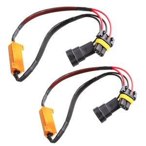 50W 6RJ H7 H11 H1 9005 9006 Headlight Load Resistor LED Canbus Car Fog Lamps Decoder Error Warning Resistance
