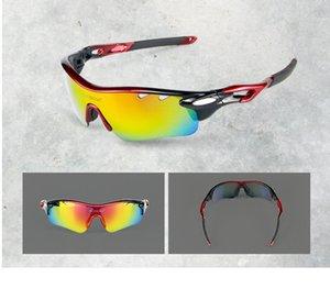5 lens Polarized Cycling Sunglasses Sport Cycling Glasses Mens Mountain Bike Goggles UV400 Cycling Eyewear Bicycle Glasses