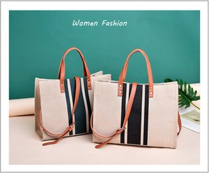 Women Ladies Linen Shoulder Bag Can Use As Tote Bag. 2020 New style Hand Bag For Fashionable Women. High Quality