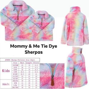 Женщины Детей шерпа пуловер Блок цвет мягкой ватка зима осень Quarter молния куртка Y191007