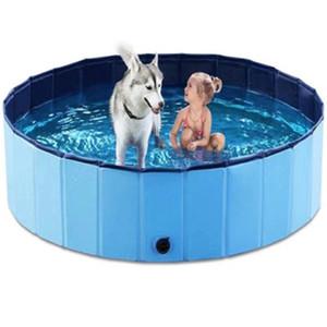Pieghevole Pet Dog Nuoto House Bed Bath Pool pieghevole estate Bathing Piscina scoperta piscina vasca da bagno per bambini Cani Gatti