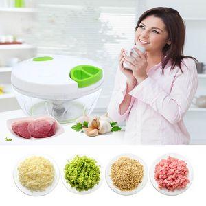 أدوات المطبخ الصديقة للبيئة متعدد الوظائف المروحية الثوم الخضروات اللحوم الفاكهة الطبخ XD22231 أداة آلة