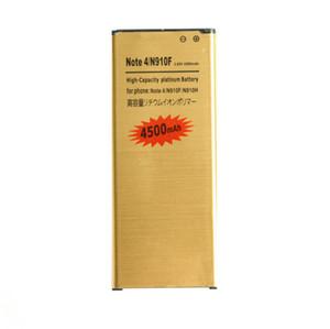 2019 yeni 1x 4500 mAh EB-BN910BBE Altın Samsung Galaxy Not 4 Için Yedek Pil N910F N910H N910S N910T N910V N910A N910C N910G
