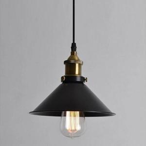 Retro endüstriyel Mini Edison siyah elbise kolye Işık Nordic restoran bar demir Sarkıt Ev aydınlatma Asma lamba PA0001