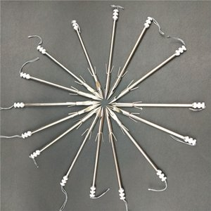 3pcs Broadheads en acier inoxydable Slingshot pointe de flèche arc poisson Slingshot flèche tête tir Catapult Dart Conseils de chasse