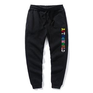 Sweat Pants Letter Print ASTRO Men Ms Casual Trouser Hip Hop pants Jogger Fashion hip-hop casual track pants hoodie men