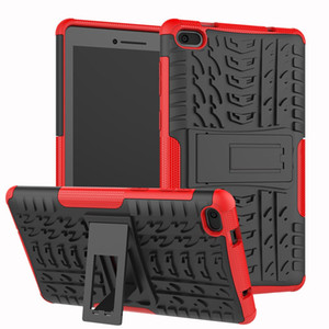Heavy Duty 2 in 1 Hybrid Rugged Case For Lenovo Tab E7 2018 Tablet Funda Cover For Lenovo 7104 TB-7104F 7 inch cases
