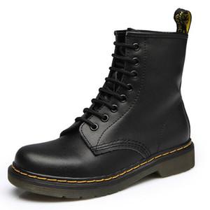Stiefel Frauen-echtes Leder-Schuhe für Winterstiefel Schuh-Frauen beiläufige Frühling echtes Leder Botas Mujer Female Stiefeletten dd449