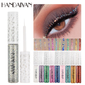 1PC Shiny pearlescent Liquid Eyeshadow Glitter Waterproof Eyeliner Makeup Metallic Eye Liner Long Lasting Cosmetic Tools TSLM2