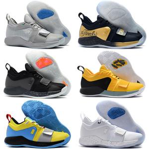Nouveautés Arrivée Version de combat PG 2.5 PlayStation Taurus Route Master Basketball Chaussures Paul George PG2.5 PS Sport Sneakers Taille 40-46