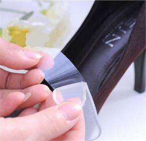Solette per scarpe autoadesive Heel Paste Silicone Gel Anti-Slip Pad Soletta Cura del piede Cuscinetto del tallone Protector Sollievo Gel Liner Grips