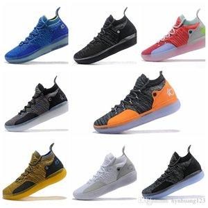 Nike KD 11 New OG sapatos KD 11 tênis de basquete Kevin Durant 11s homens correndo Calçados esportivos off luxuoso branco KD EP Elite Esporte Sneakers danstore