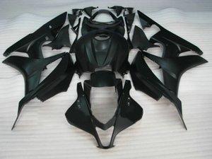 Весь матовый черный литья под давлением Обтекатель для HONDA CBR600RR 07 08 CBR 600RR 2007 2008 CBR600F5 Обтекатели комплект + подарки