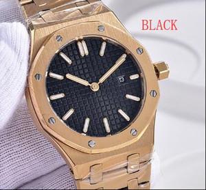 HOTEST senhoras bonitas Relógio de pulso Real Quartz 33 milímetros Relógios octogonal Black Dial Relógios de pulso das mulheres ouro amarelo Outdoor Assista P3587