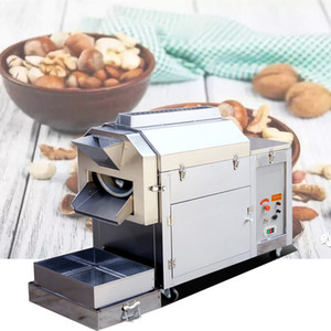 machine à rôtir noix de gaz pour les graines de châtaignes d'arachides noix de cajou machine à rôtir les noix séchées noix fabrication