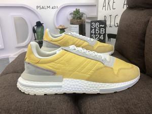 economici unisex ZX 500 Scarpe da corsa per uomo 500 Sneakers Donne Designer moda giallo Sneakers Mens Chaussures ZX 500 Scarpe da ginnastica atletiche 36-45
