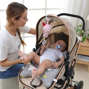 Cute Plush Animal Rattle Baby Toys Doll Infant Stroller Toys for Baby Toys 0-12 Months Newborn Infant Educational Baby Speelgoed