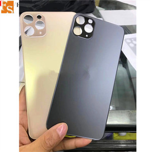 Back Glass For iPhone 11 Pro Max 11Pro Battery Cover Rear Door Chassis Frame Back Housing cover Glass