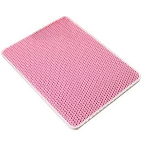 Cat Litter Mat Layer Foldable Waterproof Double-Layer Cats Mat Portable Bottom Non-Slip Litter Cat Bed Pet Supplies