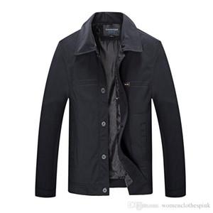 Designer Mens Loose Jacket Fashion Thin Solid Color Coat Male Lapel Neck Outerwear
