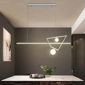 New White / / Lampade a sospensione Oro Nero LED per la cucina sala da pranzo lustro ha portato Hanging installazione moderna hanglamp lampadari
