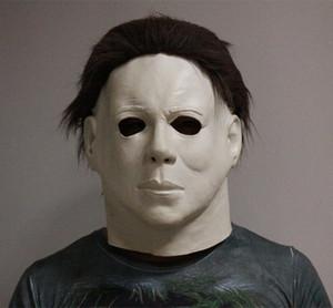 Brand Factory Делюкс Высокое качество украшения Box подарков Реалистичная платье партии Латекс Halloween Party Mask Rubber Michael Myers Mask Y200103