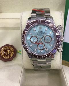 Orologio meccanico da uomo con movimento automatico in Asia 2813, lunetta in ceramica, orologio da polso con data cronometro, orologio da taschino in acciaio pieno 40mm, orologio da polso sportivo
