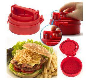 Manuale Hamburger Forme Press Burger Tortini Maker Press Chef Cotolette ripiene Hamburger Mold Grill Cucina Strumenti Gadgets naruto